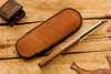 Norse Artefakt: Mini Druzil Friction Folder with Textured Copper Handles         B