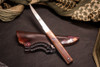Norse Artefakt Imperial Kozuka with Copper Handles and Leather sheath