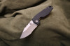 Raidops: Aquilo S30V Blade Stonewashed G-10 Black Handle