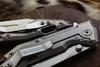 Raidops Centauro N690 Blade Titanium Handles Stonewashed (Discontinued)