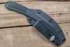 Bastinelli Creations Industrial Feather w/ Kydex Sheath and Discreet Carry Clip