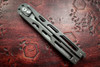 Artisan Cutlery: Kinetic-Tool Automatic Butterfly Tool Grey Stainless