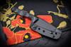 Bawidamann Blades Huginn Slicer Grind Black Blade w/ Discreet Carry Clip