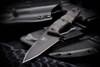 Bawidamann Blades: Huginn Top Edge w/ Discreet Carry Clip