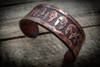 RMJ Tactical: Forged Copper Bracelet - Scuffed Finish