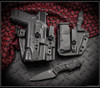 Bawidamann Blades: Muninn Slicer Grind w/ Discreet Carry Clip