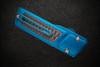 No Limit Knives Akuma Tanto Satin M390 Blue w/ CF Inlay