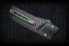 No Limit Knives Akuma Dagger Satin M390 Black w/ CF Inlay