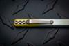 "Zach Wood: 6"" Strikeplate Titanium Pen Pocket Prybar Annodized Finish"