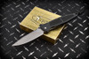 Microtech Knives Socom M/A Manual Knife Black Aluminum Handles and Bead Blast Blade 12/1997