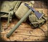American Tomahawk Company Model 1 - Nylon Handle -  OD Green/Black w/ Kydex Sheath