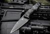 Bawidamann Blades Muninn Top Edge Black Blade w/ Discreet Carry Clip