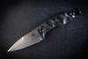 Bawidamann Blades Muninn Top Edge Stonewashed Blade w/ Discreet Carry Clip