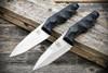 Bawidamann Blades Huginn Slicer Grind Stonewashed Blade w/ Discreet Carry Clip