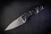 Bawidamann Blades Muninn Slicer Grind Stonewashed Blade w/ Discreet Carry Clip