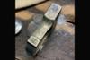 Bawidamann Blades Doughboy DB-2 Brass Custom Antiqued Patina