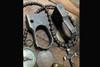 Bawidamann Blades Doughboy DB-1 Brass Custom Antiqued Patina