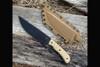Helm Grind Benghazi Warfighter Tan TeroTuf Scales w/ Boltaron Sheath