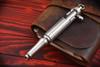 Hidetoshi Nakayama Large Bolt Action Pen Stainless Steel