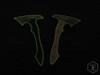 Exclusive: Jerry Hossom Yin/Yang Headhunter Hawk GITD Patch Set