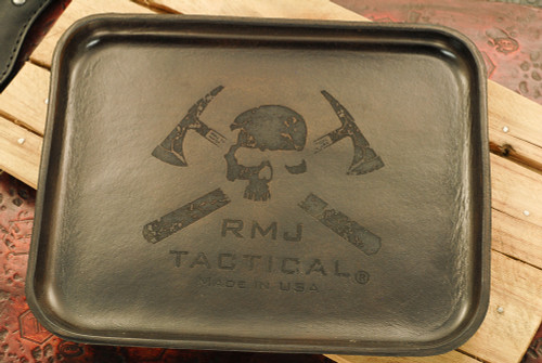RMJ Tactical: Angry Steve Leather Valet Tray