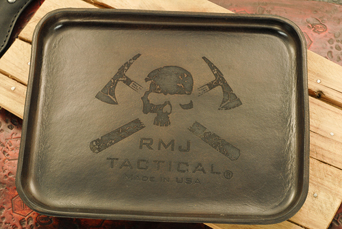RMJ Tactical Angry Steve Leather Valet Tray