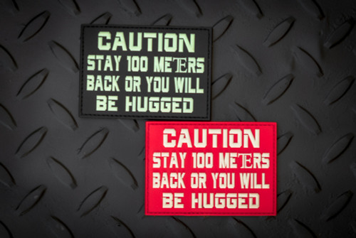 Exclusive: Tactical Elements Be Hugged Patch Set GITD