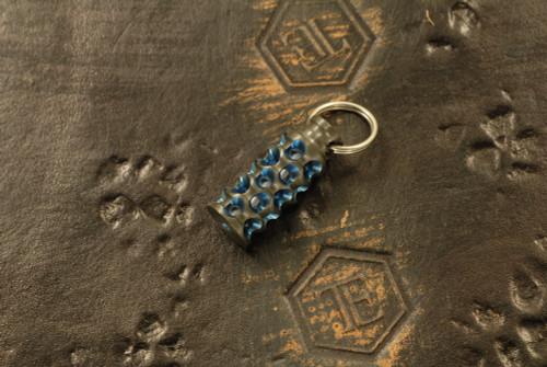 Gray Precision Monster Lantern Zirconium w/ Blue GITD Tritium