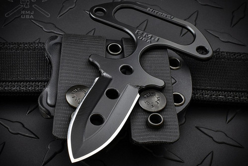 RMJ Tactical Dragonfly Push Dagger w/ Kydex Sheath