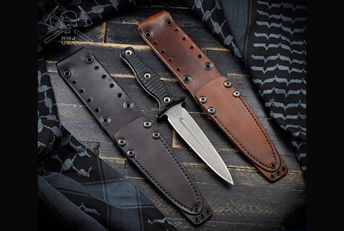 RMJ Tactical Raider Dagger Leather Sheath
