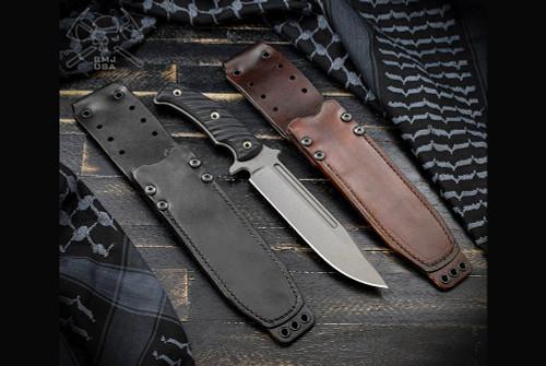 RMJ Tactical Combat Africa Leather Sheath
