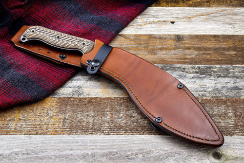 RMJ Tactical Kukri Leather Scabbard