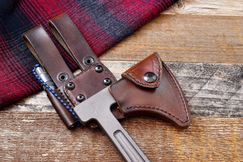 RMJ Tactical Kestrel Trail/Loggerhead Leather Scabbard