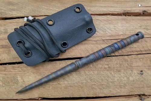 SK Knives: Titanium Spike Heat Anodized w/ Kydex