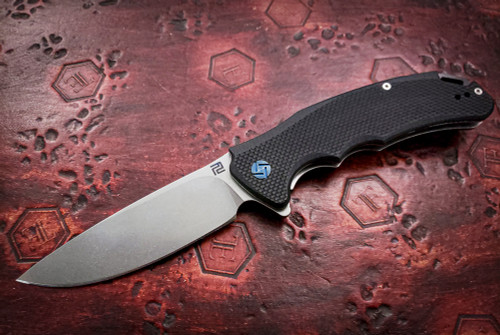 Artisan Cutlery: Tradition Liner Lock Knife Black G-10