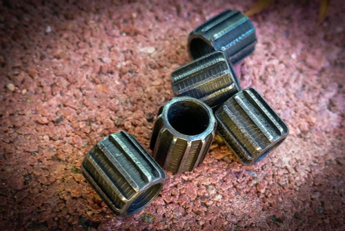 Mike Draper Stainless Cog Bead