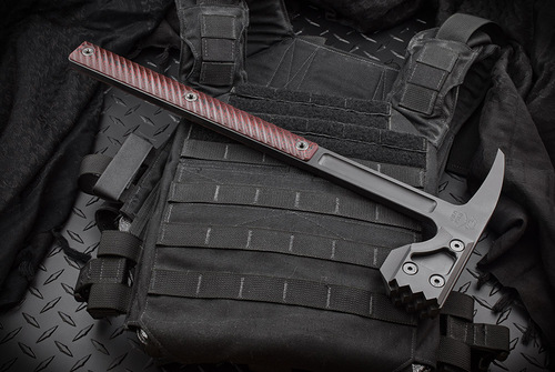RMJ Tactical Snuggles Black/Cherry Black Cerakote