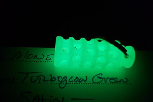 Gray Precision: Monster Lantern Turboglow Green w/ GITD Tritium