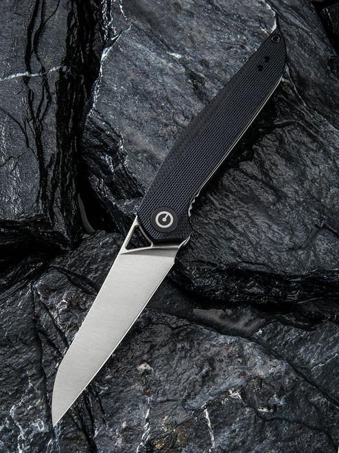 CIVIVI Mckenna Liner Lock Knife Black G-10 Satin C905C