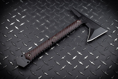 RMJ Tactical Ragnarok Black/Cherry - Black Elite Cerakote