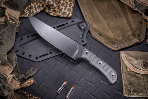 Helm Grind Benghazi Warfighter Black TeroTuf Scales w/ Boltaron Sheath