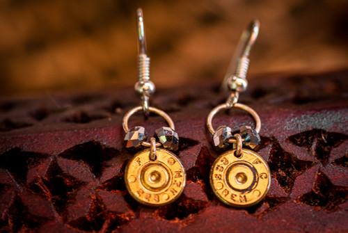 Audra Draper .223 Remington Earrings w/ Gem