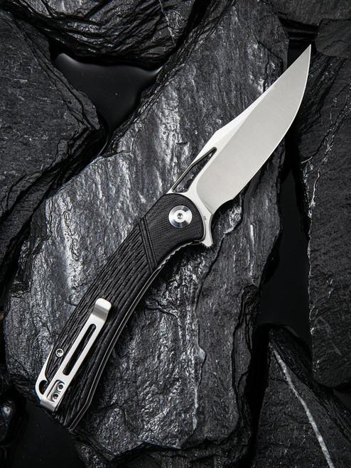 CIVIVI Dogma Liner Lock Knife Black G-10 Satin C2005D