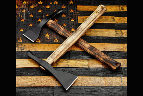 American Tomahawk Company Model 1 - Hickory Handle -  Gold Point Forge Edition w/ Kydex Sheath