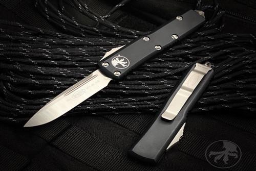 Microtech Knives UTX-85 S/E OTF Automatic Knife Stonewash Blade 231-10