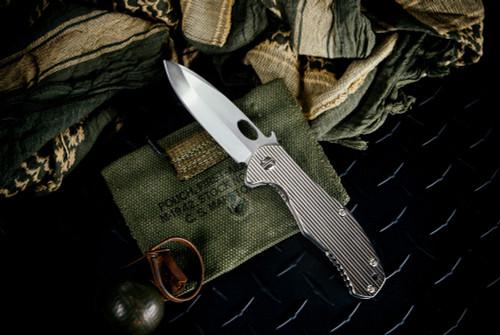Ernest Emerson CQC-10 fully customized by Nath Custom (Nathawut) Titanium Handles