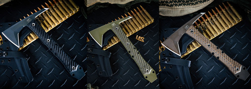 RMJ Tactical and Bawidamann Blades Collaboration ONE OFF Dvalinn Custom Colors - Discontinued