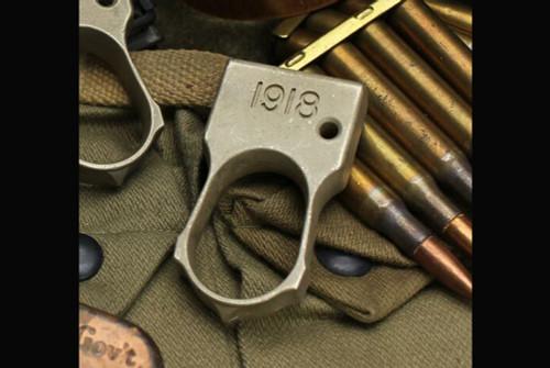 Bawidamann Blades Doughboy DB-1 Brass Bead Blasted