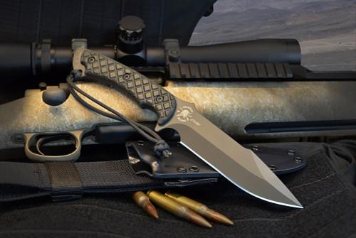 Spartan Blades Horkos Combat / Utility Knife CE Canvas Micarta Handles