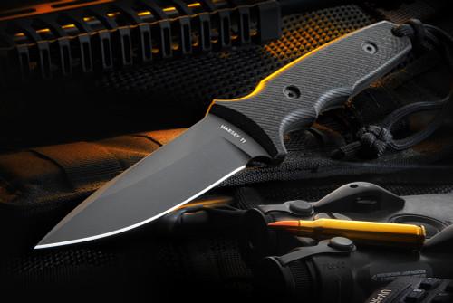 Spartan Blades Harsey Tactical Trout Linen Micarta Handles